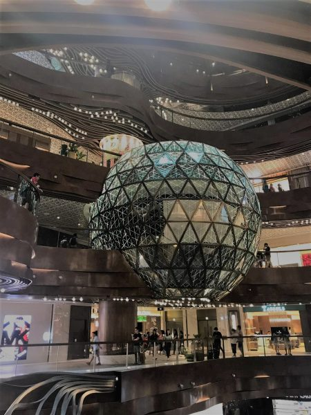 K11Musea shopping mall interior