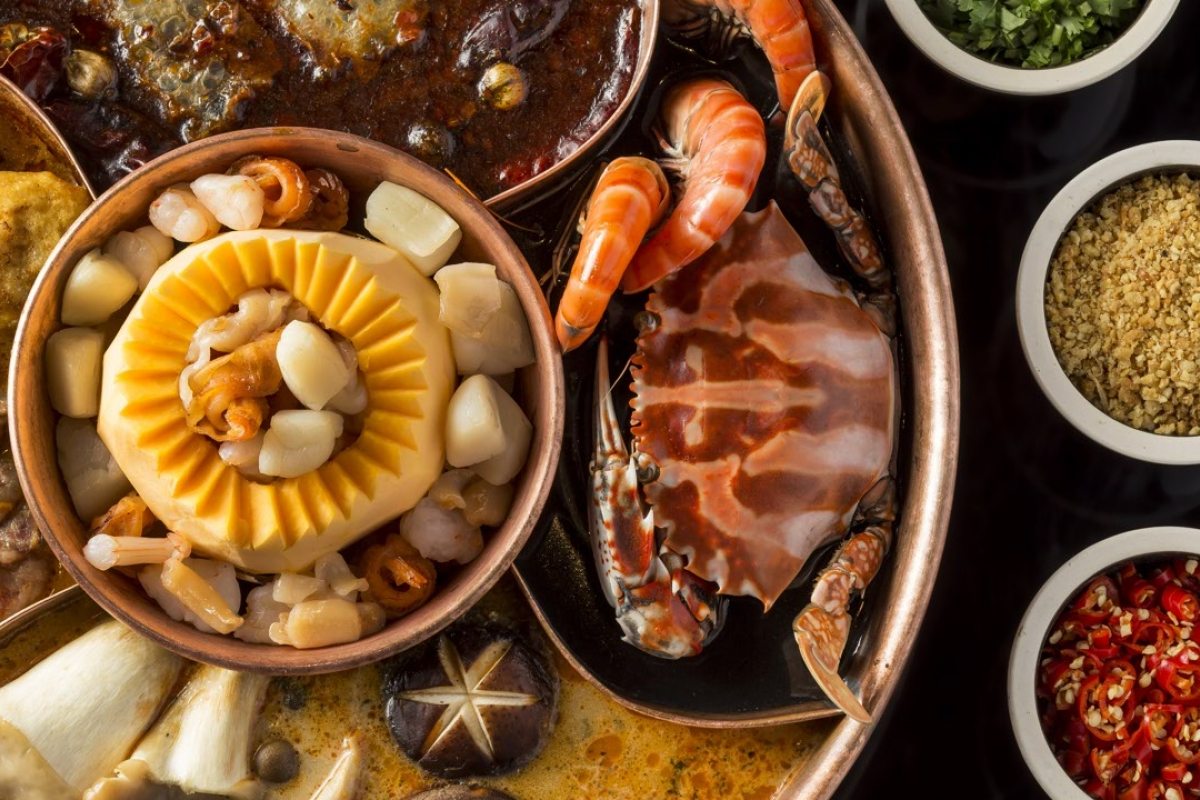 Drunken Pot hotpot place in Tsim Sha Tsui