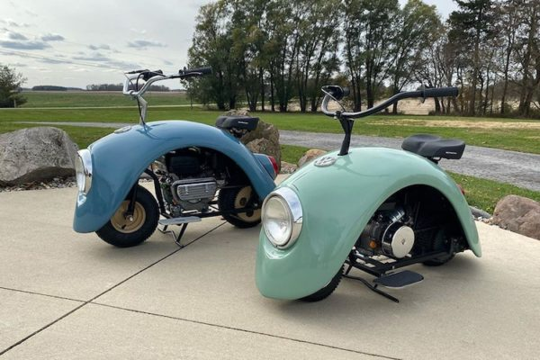 Volkspod mini bike by Brent Walter