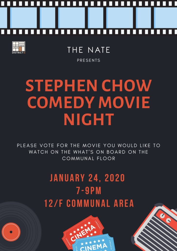 Stephen Choe Comendy Movie Night at The Nate