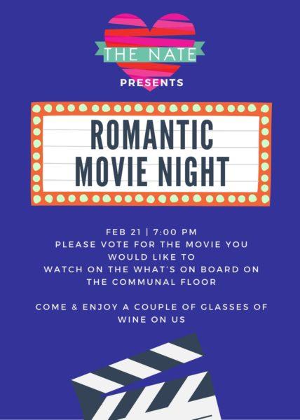 Romantic Movie Night poster