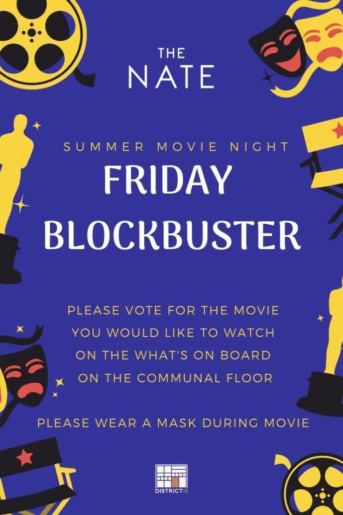 July movie night