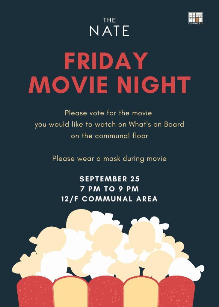 Friday Movie Night