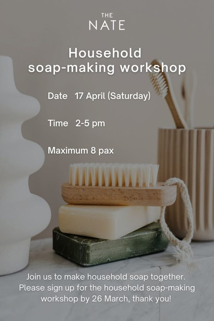 Household soap-making class