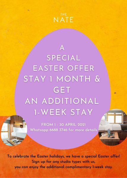 The Nate Easter Special Offer