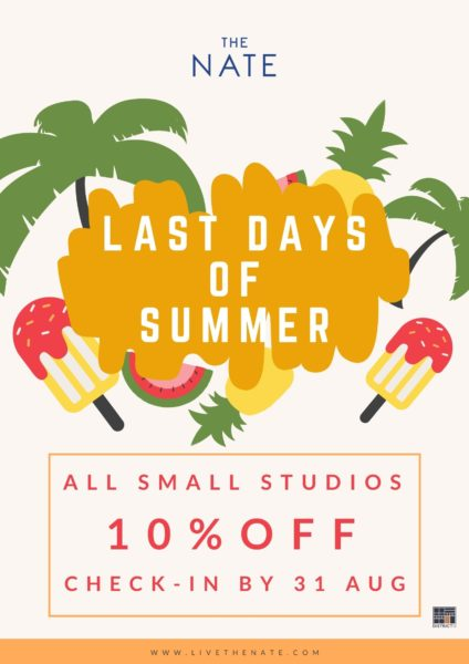 The Nate summer promotion